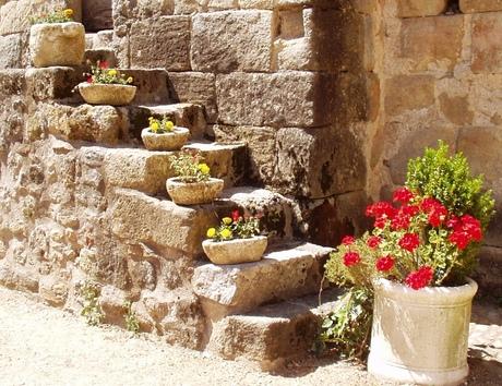 Fleurig trappetje