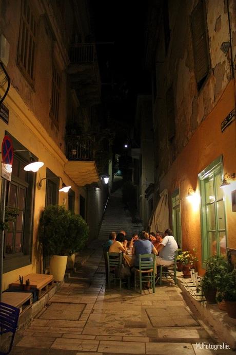 Een warme Griekse avond
