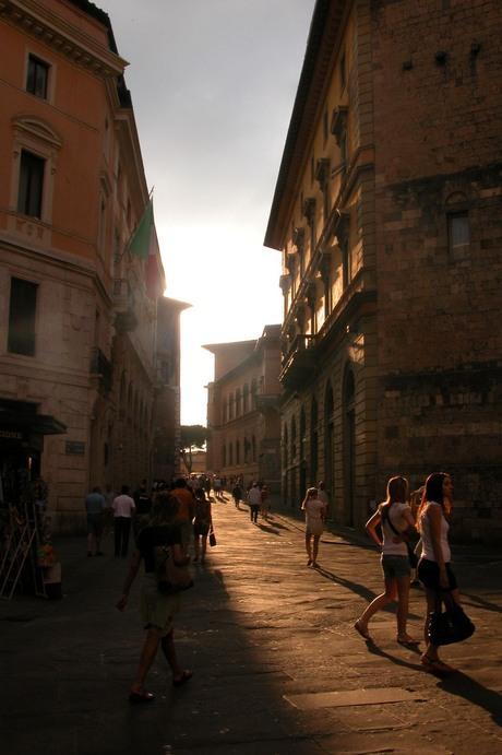 Florence bij avondlicht