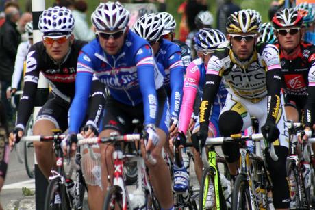 Giro d'Italia raast door Zoetermeer