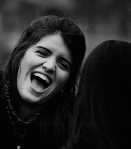 Ik lach je uit