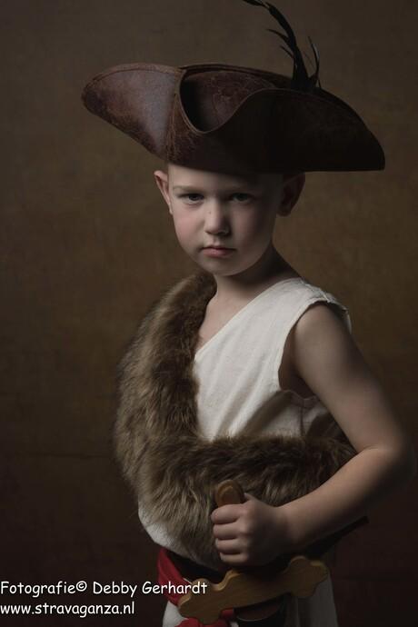 Dirk als piraat