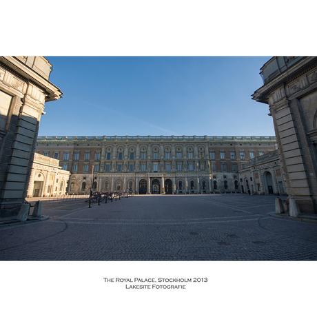 The Royal Palace, Stockholm 2013