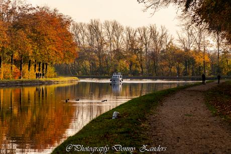 Herfst ritje met de boot