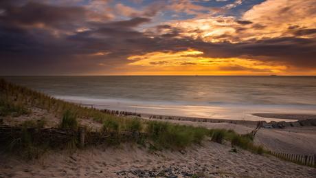 Sunset @ Maasvlakte
