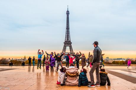 Parijs is altijd een goed idee :)