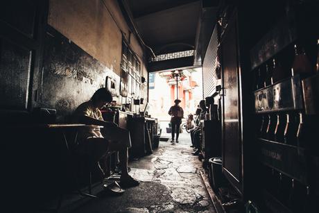 Bangkok alleyways