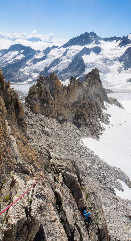 Climbing Eole