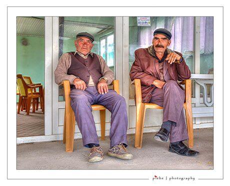 Hangouderen in Turkije