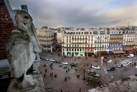 Vanuit hotel Balladins, Lille