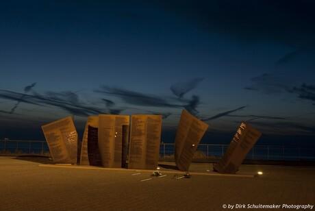 Monument voor degene die niet terug gekomen zijn van zee