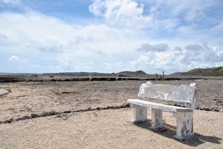Bankje in Shete Boka Park Curacao