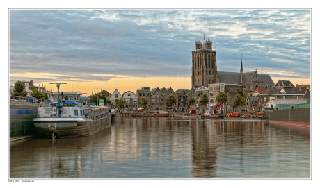 Dordrecht in softtone.