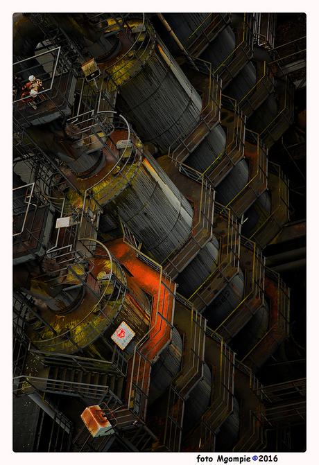 Destillationtowers