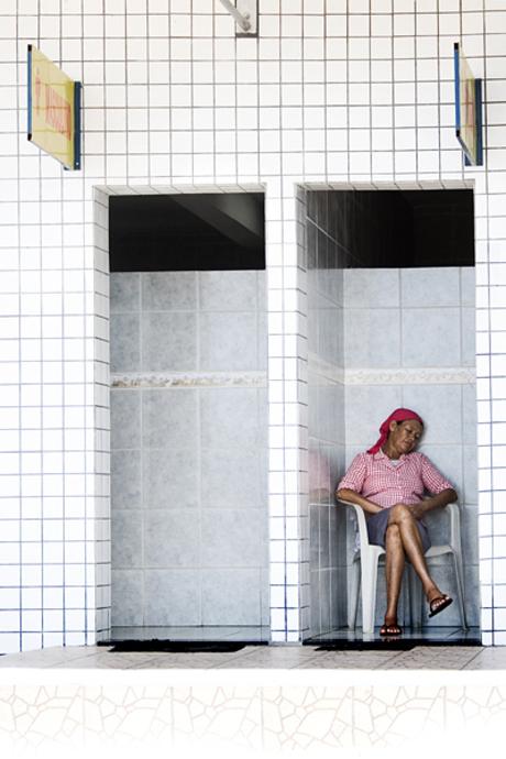 Lezersreis Brazilië - toiletjuffrouw