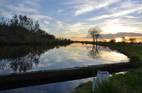 Lichtspel in de polder
