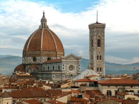 Dom - Florence, winter 2003 - foto door fotohela op 07-01-2017 - deze foto bevat: kerk, florence, italie, dom
