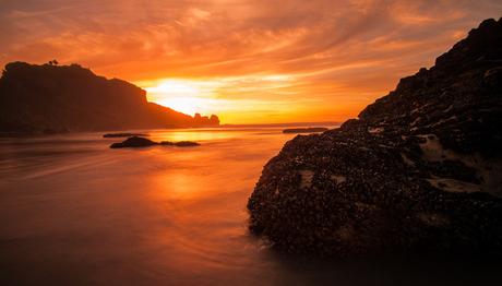 Zonsondergang In NZ