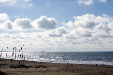 Kijkduin strand en zee