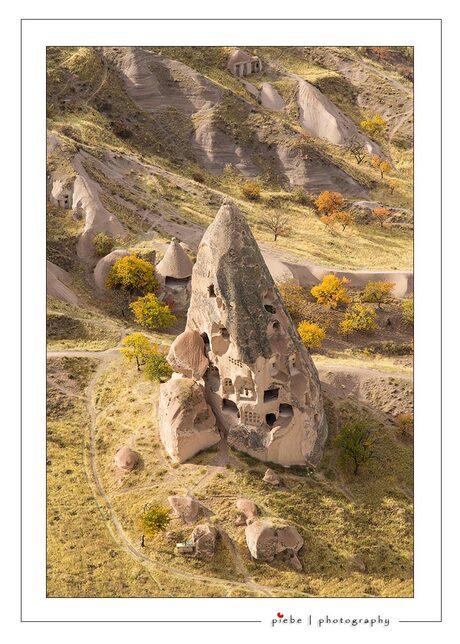Beautiful mountains of Cappadocia