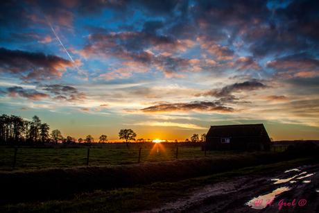 Sunset De Meente