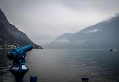 Zicht op het Garda meer