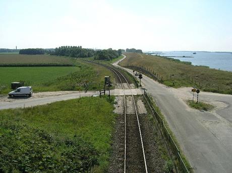 Spoorweg Weg Waterweg