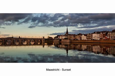Maastricht - Sunset