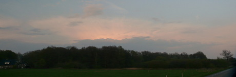 SunSet over Klarenbeek