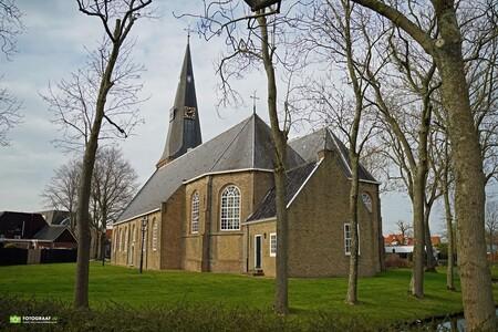 Dorpskerk Zevenhuizen (ZH) - Dorpskerk Zevenhuizen (ZH) - foto door Fotograaf4U op 08-03-2021 - deze foto bevat: oud, architectuur, landschap, kerk, dorpskerk, dorpskerk zevenhuizen (zh), zevenhuizen (zh)