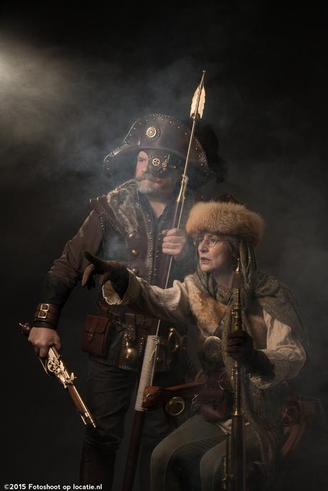 Steampunk warriors