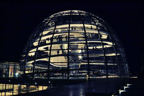 Reichstag by night