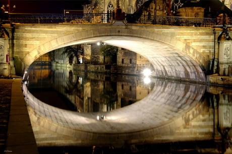 Gent - St-Michielsbrug - nacht