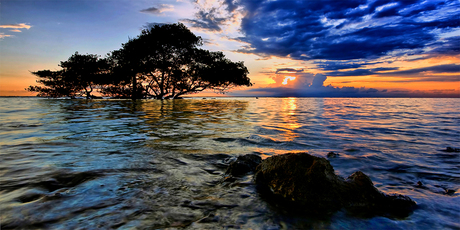 sunset @ Gili Islands