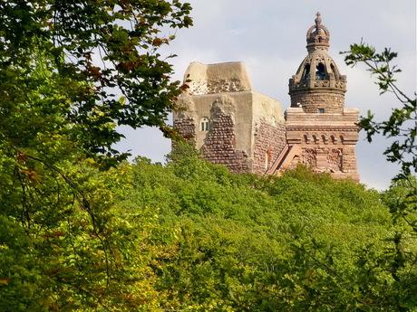 Ruines van Reichsburg.