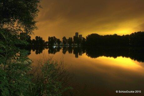 Lichtvervuiling in Ypenburg