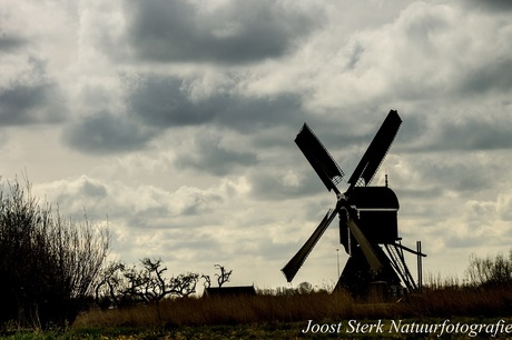 A Mill and Clouds