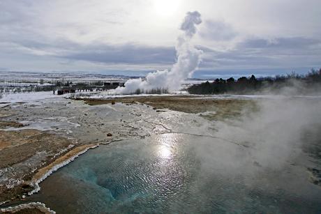 Geiser Strokkur IJsland