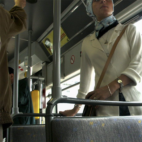 From The Series: Ghent Bus People