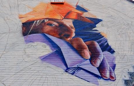 muurschildering Fokkesteeg Nieuwegein