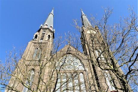 P1140735  Delft Maria van Jesse kerk in de ochtendzon 23 april 2021