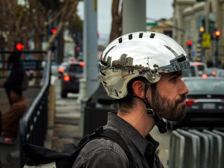 Cyclist in San Francisco