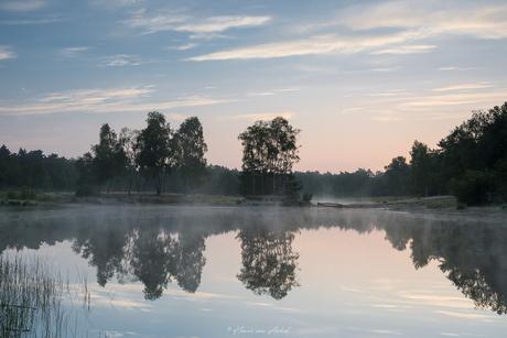 Loofles ochtend mist