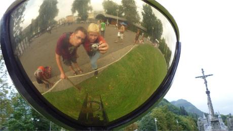 Reflectie in Lourdes