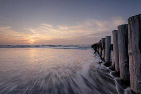 Rust aan het strand