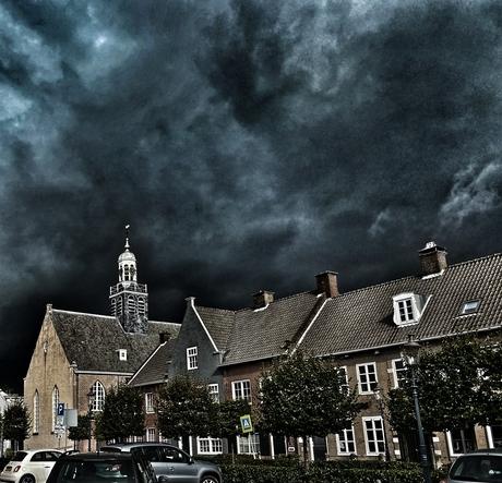 Threathening clouds