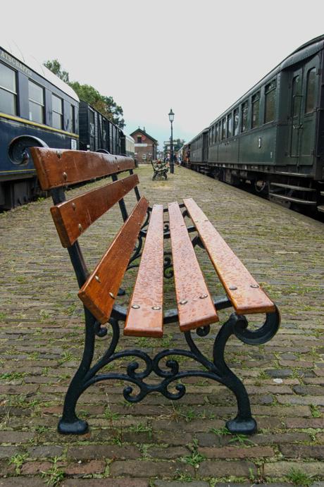 Als ik een trein zie vergeet ik de regen.