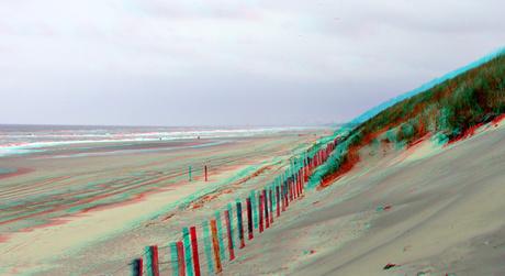 Strand Noordwijk aan Zee 3D