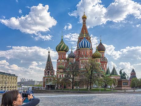Basilius kathedraal Rode Plein Moskou
