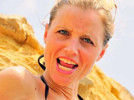 Marloes  - Marloes  - foto door Straub op 11-04-2021 - locatie: Costa Blanca, Alicante, Spanje - deze foto bevat: neus, glimlach, huid, lip, kin, kapsel, oog, mond, wimper, nek